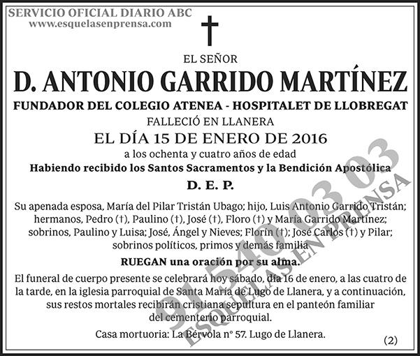 Antonio Garrido Martínez